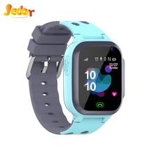 Детские Смарт-часы JEDONR, часы с SOS, Смарт-часы для детей с Sim-картой, фото, водонепроницаемые, IP67, подарок для детей, для IOS, Android