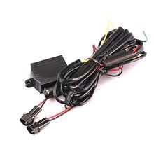 1 шт drl Светодиодный дневной светильник реле автоматического