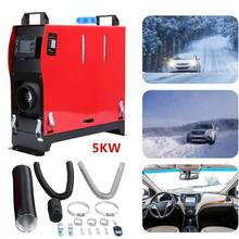 Auto Air Heater All In One Air Diesels Heater 5KW 12V Een Gat Voor Vrachtwagens Motor-Woningen Boten bus + Lcd Key Switch + Remote
