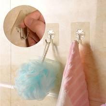 High1 шт. толстый домашний кухонный крючок прозрачная присоска настенный крючок вешалка для кухни ванной комнаты цена LG66