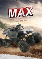 JJRC Q51 RC Car 2.4G Off Road MAX 6WD RTR Racing Truck Car Six Wheels Brushed Military Truck with Headlight Climbing Car Toys
