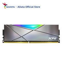 Adata xpg spectrix d50 xtreme ddr4 rgb módulo de memória 16gb (8gbx2) 4800mhz 5000mhz computador desktop ram