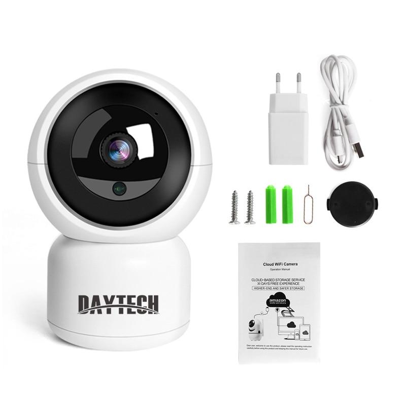 Daytech otthoni biztonsági IP kamera Vezeték nélküli WiFi kamera - Biztonság és védelem - Fénykép 5