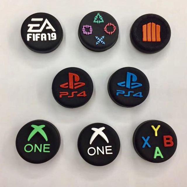 Чехол накладка для джойстика ABXY PS Home с логотипом для Sony Dualshock 3/4 PS3 PS4 Xbox One 360 Switch Pro
