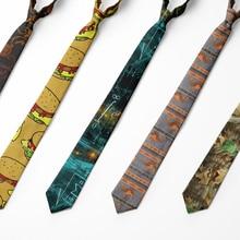 Men's Tie Neck-Tie Formula-Sci-Fi Business Causal Wedding-Accessories Harajuku Fashion