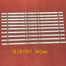 30pcs/lot LED Backlight bar For TCL 32S6500S 32S6500 32S5300 32D1200 Philco PTV32D12D PTV32D12 4C LB320T DSA DSR 32HR332M05A7 V2