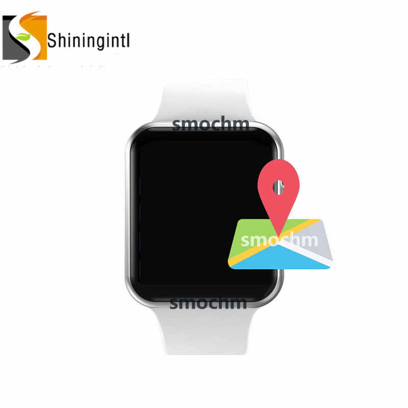 Smochm IWO 10 New Wireless Charger MTK2503 GPS Sports Smart Watch 4 44MM MTK2502 IWO 9 Upgrade for Apple Watch Iphone Andriod