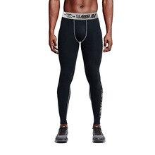 MJARTORIA быстросохнущие мужские компрессионные штаны, трико для бега, Спортивные Леггинсы, одежда для фитнеса, тренажерного зала, баскетбольные штаны, базовый слой