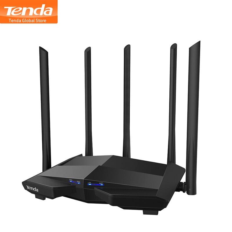 Hot Tenda AC11 Gigabit Dual Band 12AC Router Wifi inalámbrico repetidor WIFI 5 * 6dBi antenas de alta ganancia, cobertura más amplia fácil configuración| |   - AliExpress