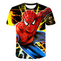 2021 Summer New 3D Printing Graphics Men's and Women's Children's T-shirts Round Neck Short-sleeved Tops