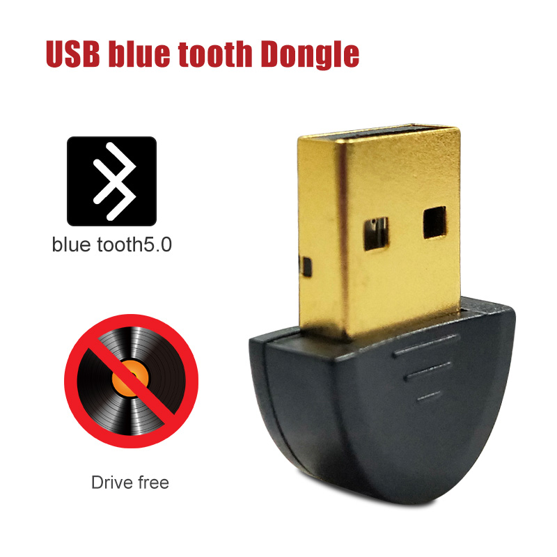 For Bluetooth Usb Adapter Dongle 5.0 Computer Pc Headphones For Speaker Car Fone Receiver Transmiter Tv Adaptador 3.5mm Mouse