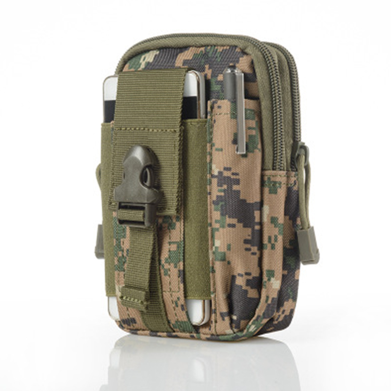 Fashion  Men Waist Pack Bum Bag Pouch Waterproof Military Belt Waist Packs Molle Nylon Mobile Phone Wallet Travel Tool Purses