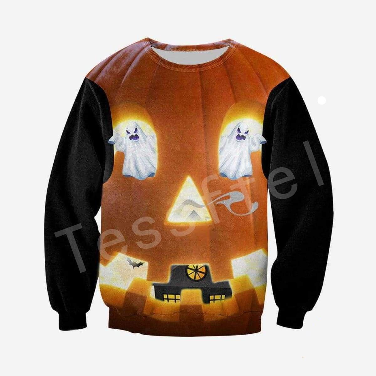 Tessffel Halloween Tracksuit MenWomen HipHop 3Dfull Printed Sweatshirts Hoodie shirts Jacket Casual colorful fit funny Style 10 in Hoodies amp Sweatshirts from Men 39 s Clothing