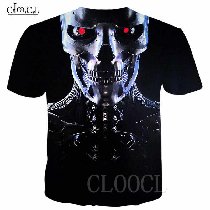 Più Nuovi Uomini/Donne T-Shirt 3D Stampa Film Terminator Scuro Fate T Camicette Manica Corta Harajuku Tshirt Tee Camicia Hip hop Streetwear