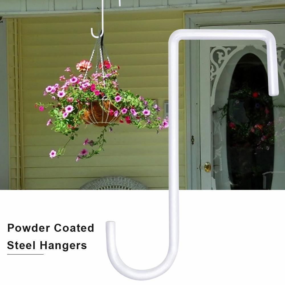 Европейский стиль стена подвесной горшок кронштейн сталь цветок подставка балкон дом украшение утюг растения горшки крючки