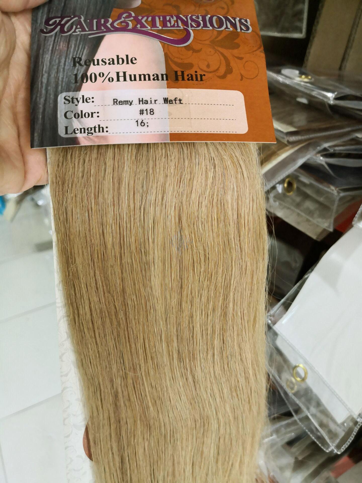 Chocola, бразильские волосы remy на всю голову, 10 шт. в наборе, 280 г, 16-28 дюймов, натуральные прямые человеческие волосы для наращивания на заколках - Цвет: #18