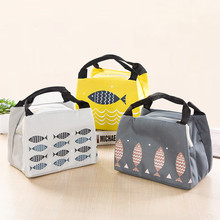 купить Functional Pattern Cooler Lunch Box Portable Insulated Canvas Lunch Bag Thermal Food Picnic Lunch Bags For Women Kids #A по цене 69.69 рублей