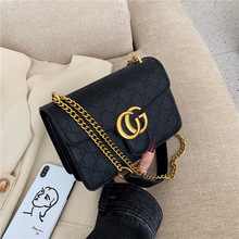 High Grade Textured WOMEN'S Bag Bags2019 New Style Korean-style Trendy Letters S