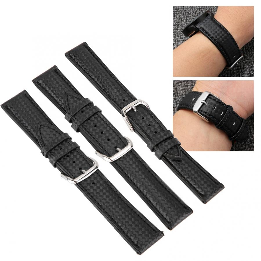 Watch Band Universal Sweat-Resistant Watchband Strap Replacement Watch Band Watch Accessories Carbon Fiber Skin Watch Strap