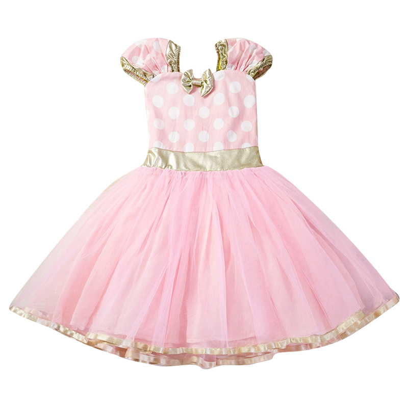 Ha2e05278cf9d487da776a0c1c2340820X Fancy Kids Dresses for Girls Birthday Easter Cosplay Minnie Mouse Dress Up Kid Costume Baby Girls Clothing For Kids 2 6T Wear