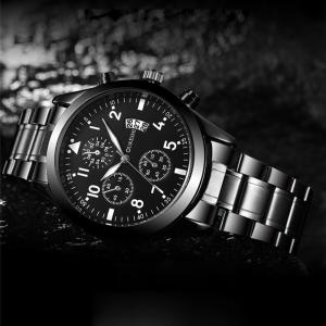 Casual Men's Stainless steel Antique Automatic Watches Top brand luxury men watch mechanical wristwatch men waterproof