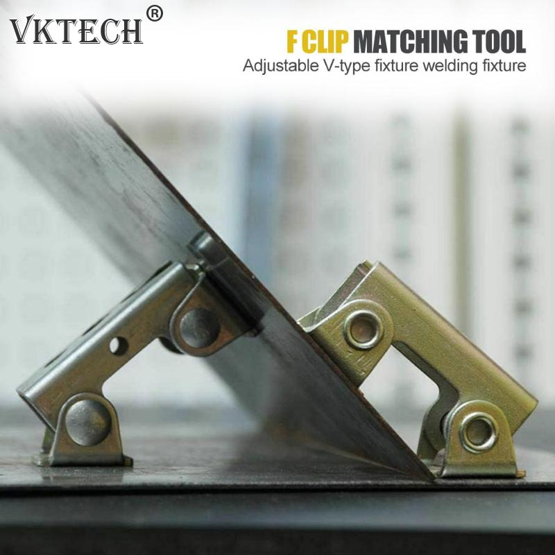 Magnetic V-type Clamps V-shaped Welding Holder Welding Fixture Adjustable Magnet V-Pads Hand Tools Metal Working Tool