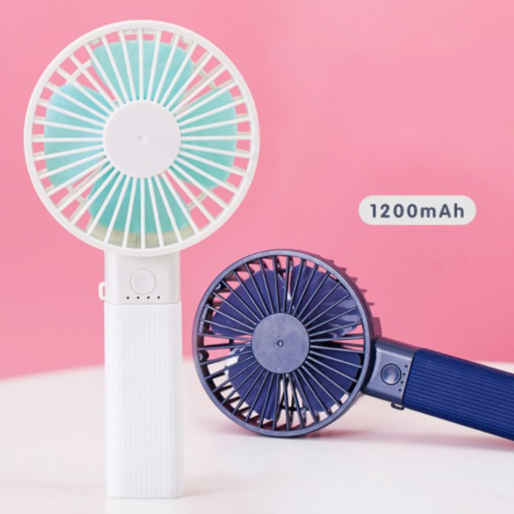 Candy Color Multifunctional Hand-held Desk Fan Cooler Handheld Air Conditioner Cooling Fan Summer Air Conditioner Cooler