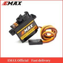 EMAX Micro Servo engranaje de plástico oficial ES08A II, 1,8 kg/seg, para modelos RC