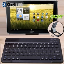 Portable Bluetooth Keyboard for Acer Chromebook Tab 10/Iconia A3-A10/One 10/Tab 10/Tab A200 A500 A501 Tablet Wireless Keyboard
