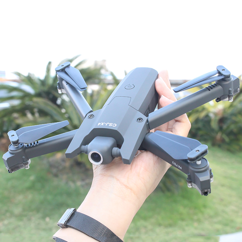CSJ-X4 <font><b>drone</b></font> 4k HD <font><b>drone</b></font> WiFi video real-time 1080p <font><b>FPV</b></font> <font><b>drone</b></font> with camera Highly maintained Quadcopter image