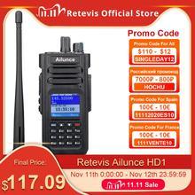 RETEVIS Ailunce HD1 DMRวิทยุดิจิตอลWalkie Talkie Hamวิทยุสมัครเล่นGPS DMR VHF UHF Dual Band DMR 2วิทยุCommunicator