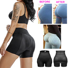 Women High Waist FAKE ASS Invisible Seamless Tummy Control Panties Shapewear Hip Enhancer Booty Padded Butt Lifter Pants Shaper