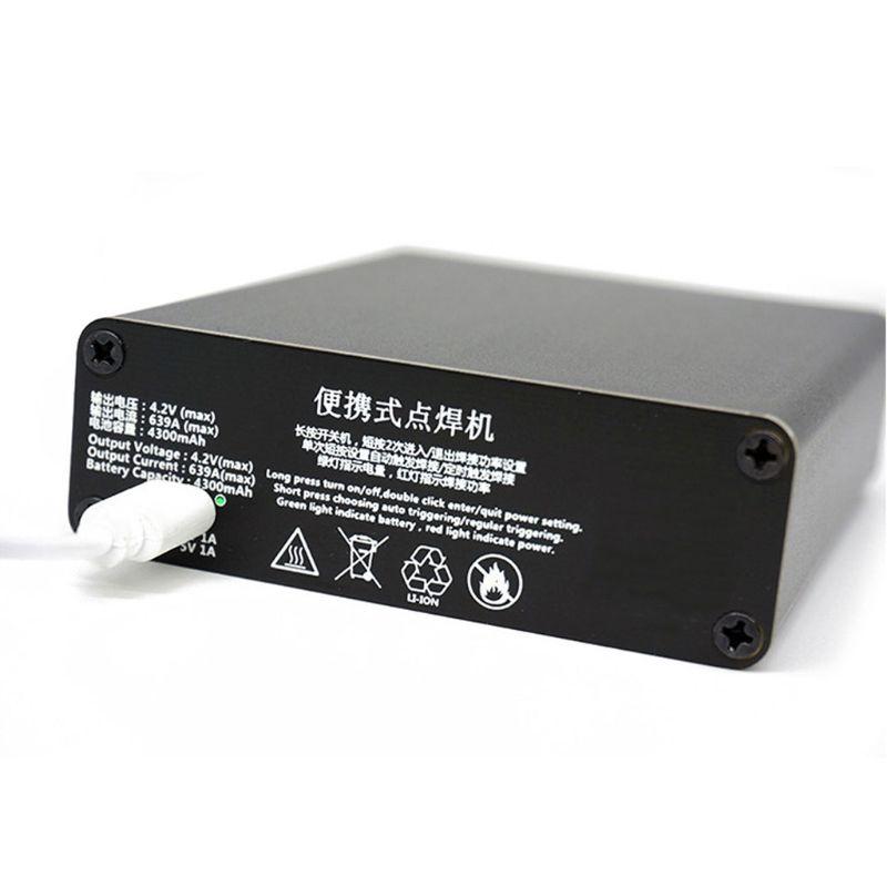 Tools : 1Set Mini Spot Welder 18650 Lithium Battery Nickel Strip Diy Spot Welding Machine Kit USB Charging Cable Welding Pen