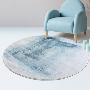 Round Carpet Living Room Home Soft Bedroom Fluffy Rug Sofa Coffee Table Round Rug Kids Room Shaggy Carpet Computer Chair Mat