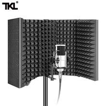 TKL YY 401 mikrofon izolacja tarcza najnowsza składana kabina głosowa Surround izolacja akustyczna pokrywa izolacja akustyczna