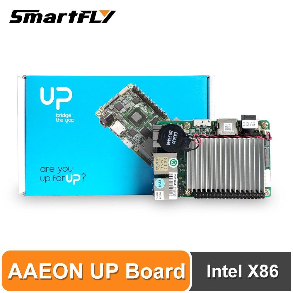 AAEON UP Board Inter 4GB RAM + 32GB EMMC Compatible avec la plupart des Raspberry Pi HAT Intel X86 prend en charge Linux, Android Windows 10