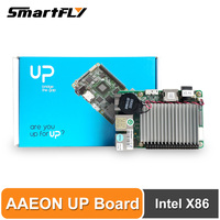 AAEON UP Board Inter 4GB RAM+32GB EMMC Compatible with Most of Raspberry Pi HAT Intel X86 Support Linux, Android Windows 10