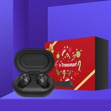 Tronsmart Spunky Beat наушники-вкладыши TWS Bluetooth наушники QualcommChip Tech APTX Беспроводной наушники с сопротивление разрыву CVC 8,0, голосовой помощник, 24 часов проигрывания