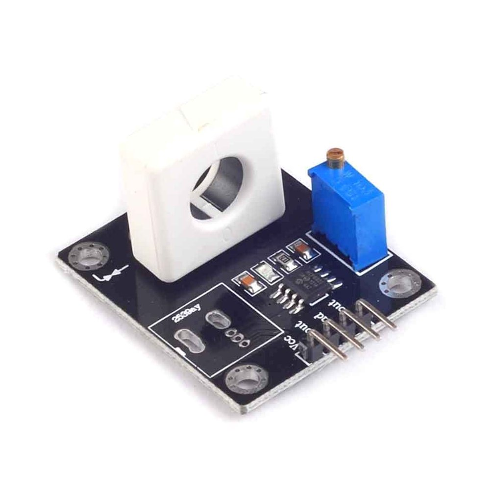 Wcs1800 Hall Current Sensor Module Adjustable 35A Short/Overcurrent Protection Module Ultra Small Hall Current Sensor Module
