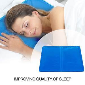 2pcsset Cooling Gel Pillows Household Concise Eco-friendly Cooling Gel Pillows Practical Comfortable improve Quality of Sleep #