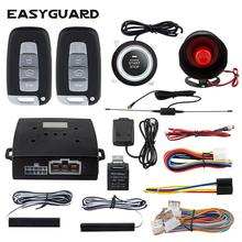 Alarm Button Car-Alarm-System EASYGUARD Pke Start Remote-Engine Entry-Dc12v Keyless Shock