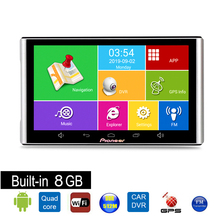 DVR Truck Gps Navigation Android 7inch Portable 1080P Full-Hd Car 8GB Sat-Nav Europe