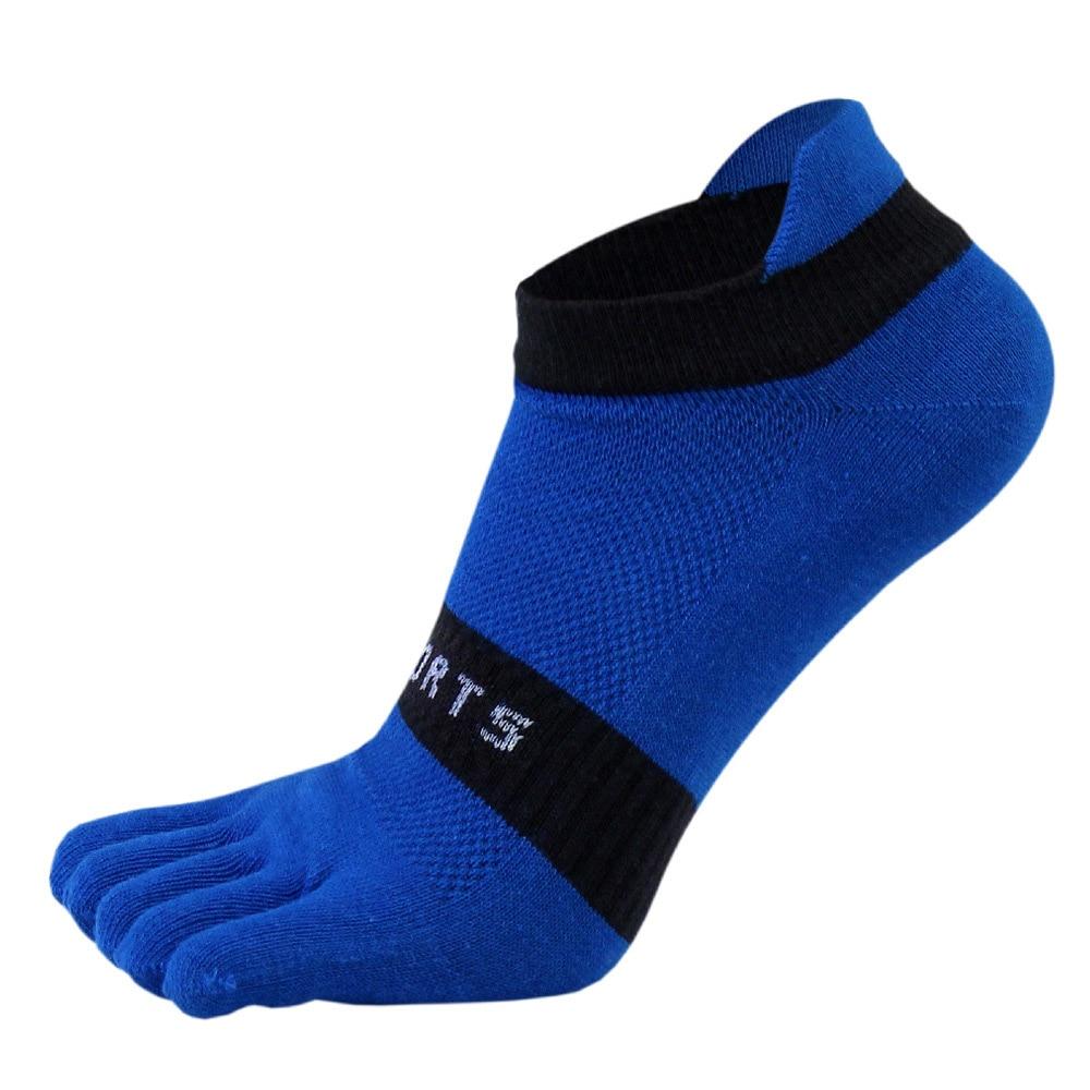 38-43 Men Outdoor Sports Bicycle Socks 1Pair Breathable 5 Finger Toe Slipper Sock Coolmax Pro Cycling Running Socks BC0337 (8)