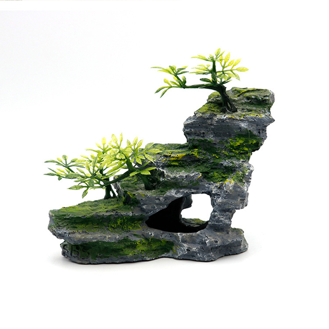 Stone Mountain Rockery Micro Landscape Scenery Fish Tank Accessories 5
