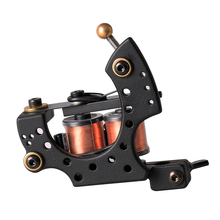цены High Quality Tattoo Machine Coil 10 Warp Coil Light Weight Tattoo Guns For Shader&Liner Coloring Lining Tattoo Machines Beginner