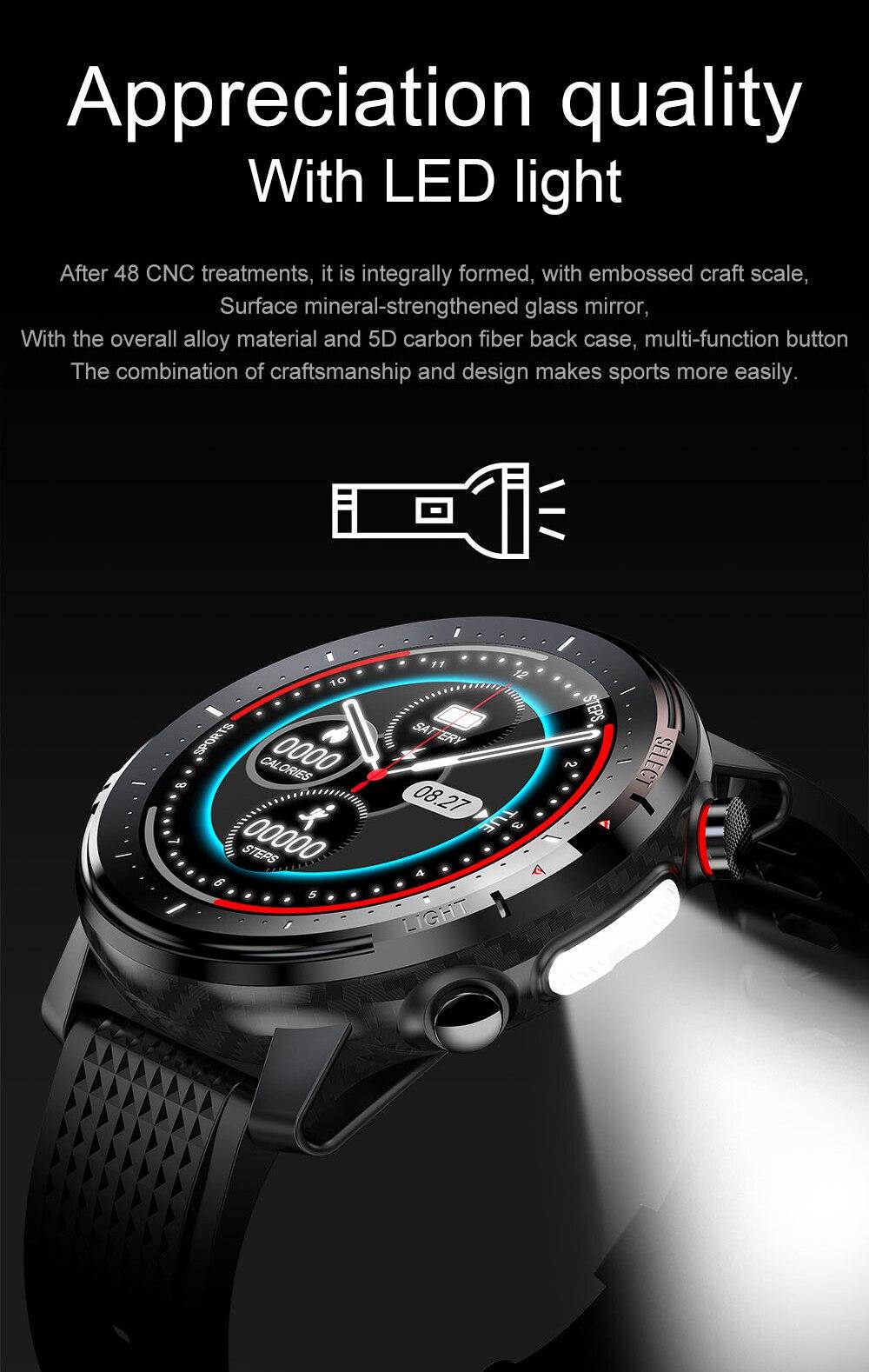 Ha2e2fa2548814e40a62024e40b69526ap Timewolf Reloj Inteligente Smart Watch Men 2021 IP68 Waterproof Android Smartwatch Smart Watch for Men Women Android Phone IOS