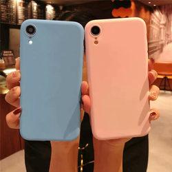 На Алиэкспресс купить чехол для смартфона shockproof color candy case for vivo iq00 neo s1 y7s z5 soft tpu silicone matte thin back cover for iqoo v17 neo phone case