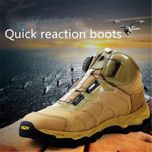 2021 Summer New Mesh Mountaineering Men's Breathable Non-Slip Iow-Top combat Boots Soft And Comfortable Wild Hiking Shoes