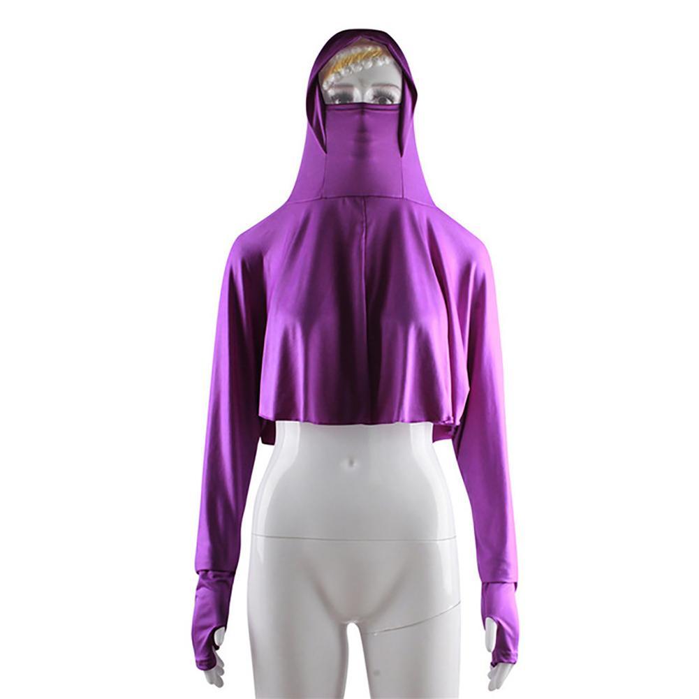 Muslim Blouse Islamic Women Top Full Cover Hooded Arab Burqa Niqab Long Sleeve Abaya Turkish Muslim Turkey Islamic Clothing 2020