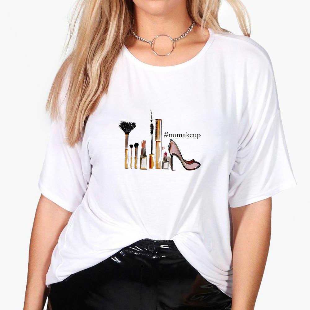 Kỳ Nghỉ Là Trên Hipster Đồ Họa Giá Rẻ Nghệ Thuật In Bông Tai Kẹp Oversize Áo Thun Ngộ Nghĩnh Áo Thun Nữ Dạo Phố Vintage Quần Áo Áo